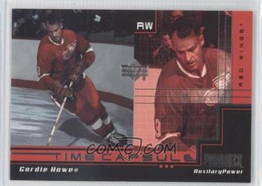 1999-00 Upper Deck Power Deck - Time Capsule - Auxiliary #AUX-TC6 - Gordie Howe