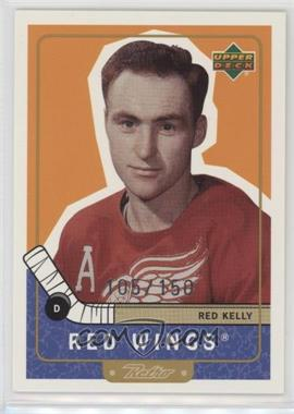 1999-00 Upper Deck Retro - [Base] - Gold #98 - Red Kelly /150