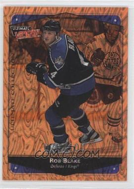 1999-00 Upper Deck Ultimate Victory - [Base] - Ultimate Collection #43 - Rob Blake /100