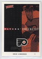 Eric Lindros Flyers Checklist