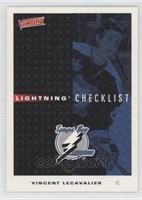 Tampa Bay Lightning Checklist (Vincent Lecavalier)