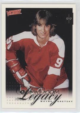 1999-00 Upper Deck Victory - [Base] #394 - A Hockey Legacy - Wayne Gretzky