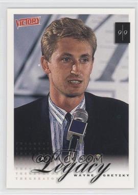 1999-00 Upper Deck Victory - [Base] #413 - A Hockey Legacy - Wayne Gretzky