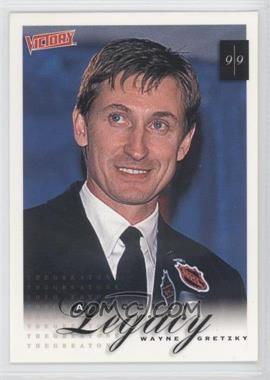 1999-00 Upper Deck Victory - [Base] #431 - A Hockey Legacy - Wayne Gretzky