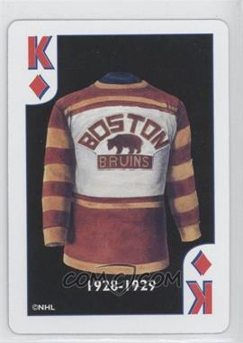 9c2ddb972 1999 International Playing Cards NHL Heritage Collection Original Six  Jerseys Playing Cards - [Base] #KD - Boston Bruins 1928-29
