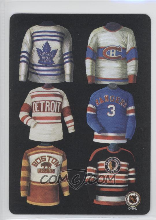 c45f4450e Report Error. 1999 International Playing Cards NHL Heritage Collection  Original Six Jerseys ...