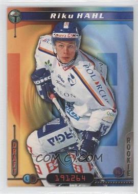 2000-01 Cardset Finland SM-Liiga - [Base] #28 - Riku Hahl
