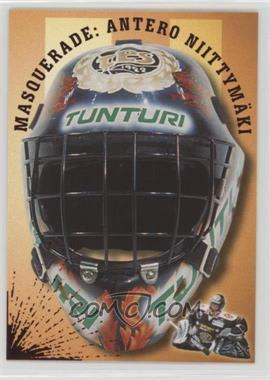 2000-01 Cardset Finland SM-Liiga - Masquerade #5 - Antero Niittymaki