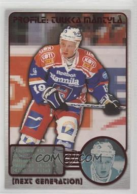 2000-01 Cardset Finland SM-Liiga - Next Generation #2 - Tuukka Mantyla