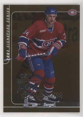 2000-01 In the Game Be A Player Signature Series - [Base] - Bronze Spring Expo #113 - Sergei Zholtok /10