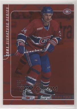 2000-01 In the Game Be A Player Signature Series - [Base] - Ruby 22nd National Cleveland #113 - Sergei Zholtok /10