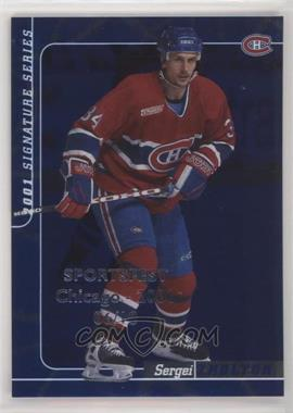 2000-01 In the Game Be A Player Signature Series - [Base] - Sapphire SportsFest Chicago #113 - Sergei Zholtok /10