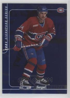 2000-01 In the Game Be A Player Signature Series - [Base] - Sapphire #113 - Sergei Zholtok /100 [Noted]