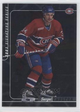 2000-01 In the Game Be A Player Signature Series - [Base] #113 - Sergei Zholtok