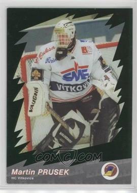2000-01 OFS Plus ELH Czech Extraliga - Green #26 - Martin Prusek