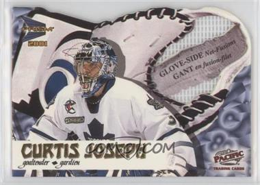 2000-01 Pacific Prism McDonald's - Glove-Side Net-Fusions #6 - Curtis Joseph