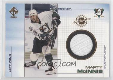 2000-01 Pacific Private Stock - Game-Used Gear #2 - Marty McInnis