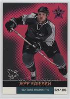 Jeff Friesen #/105