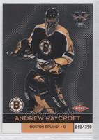 Andrew Raycroft #/390