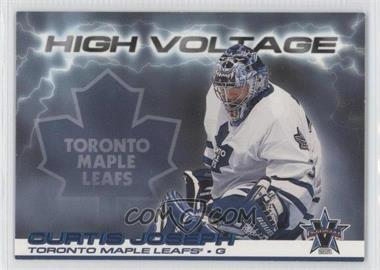 2000-01 Pacific Vanguard - High Voltage #32 - Curtis Joseph