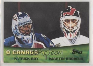 2000-01 Topps - Combos #TC8 - Patrick Roy, Martin Brodeur [NoneEXtoNM]