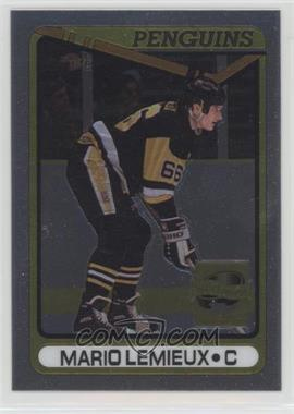 2000-01 Topps Chrome - Mario Lemieux Commemorative Series Reprints #12 - Mario Lemieux