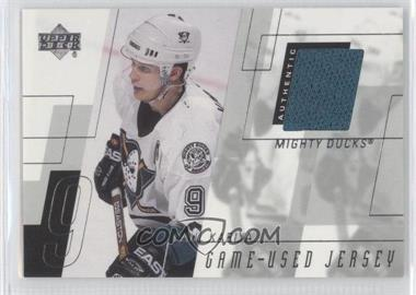 2000-01 Upper Deck - Game Worn Jerseys - Series 2 #PK - Paul Kariya