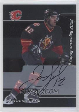 2001-02 In the Game Be A Player Signature Series - [Base] - Autograph [Autographed] #005 - Jarome Iginla