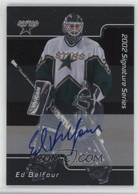 2001-02 In the Game Be A Player Signature Series - [Base] - Autograph [Autographed] #LEB - Ed Belfour