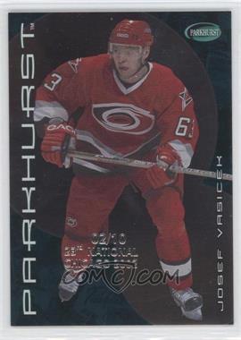 2001-02 In the Game Parkhurst - [Base] - 23rd National Chicago 2002 #244 - Josef Vasicek /10