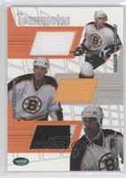 Sergei Samsonov, Joe Thornton, Bill Guerin /30