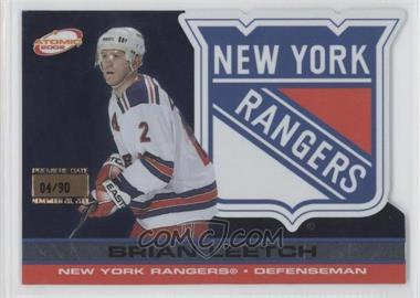 2001-02 Pacific Atomic - [Base] - Premiere Date #64 - Brian Leetch /90