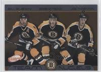 Bill Guerin, Sergei Samsonov, Joe Thornton