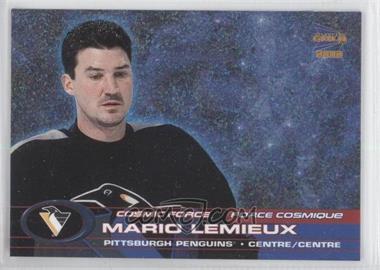 2001-02 Pacific Prism Gold McDonald's - Cosmic Force #2 - Mario Lemieux