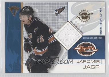 2001-02 Pacific Private Stock Titanium Draft Edition - [Base] #100 - Jaromir Jagr