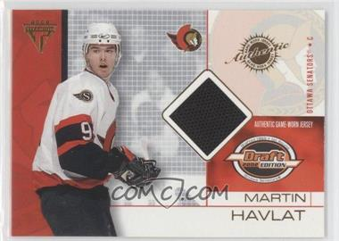 2001-02 Pacific Private Stock Titanium Draft Edition - [Base] #65 - Martin Havlat