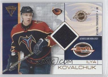 2001-02 Pacific Private Stock Titanium Draft Edition - [Base] #7 - Ilya Kovalchuk