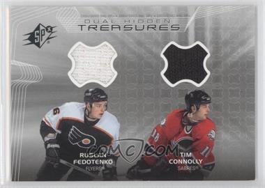 2001-02 SPx - Hidden Treasures #DT-FC - Ruslan Fedotenko, Tim Connolly