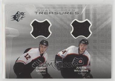 2001-02 SPx - Hidden Treasures #DT-GW - Simon Gagne, Justin Williams