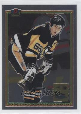 2001-02 Topps Chrome - Mario Lemieux Reprints #3 - Mario Lemieux