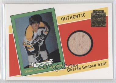 2001-02 Topps/O-Pee-Chee Archives - Arena Seats #AS-TO - Terry O'Reilly