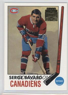 2001-02 Topps/O-Pee-Chee Archives - [Base] #53 - Serge Savard