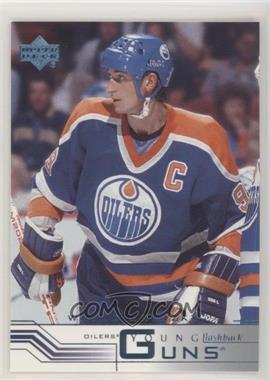 2001-02 Upper Deck - [Base] - Retail Young Guns #424 - Young Guns - Wayne Gretzky
