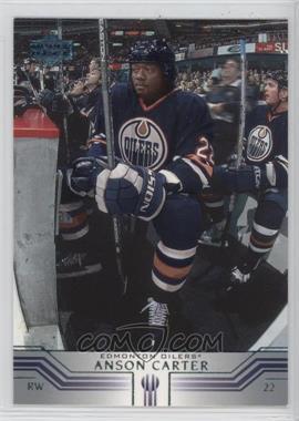 2001-02 Upper Deck - [Base] #296 - Anson Carter