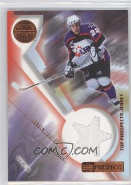 2001-02 Upper Deck CHL Prospects Game Used Edition - Top Prospects Jerseys #J-JT - Jordin Tootoo