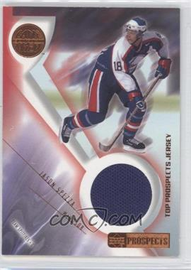 2001-02 Upper Deck CHL Prospects Game Used Edition - Top Prospects Jerseys #J-WH - Jason Spezza