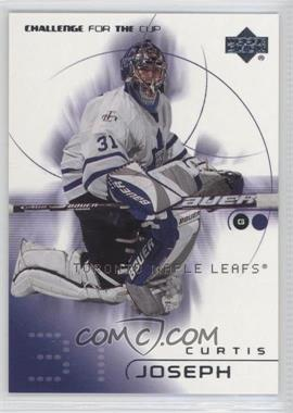2001-02 Upper Deck Challenge for the Cup - [Base] #82 - Curtis Joseph