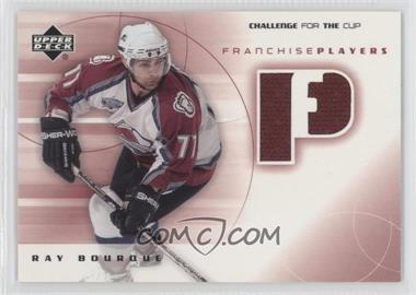 2001-02 Upper Deck Challenge for the Cup - Franchise Players #FP-RB - Ray Bourque