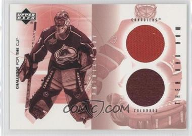 2001-02 Upper Deck Challenge for the Cup - Then and Now #TN-PR - Patrick Roy