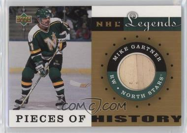 2001-02 Upper Deck Legends - Pieces of History Sticks #PH-MG - Mike Gartner